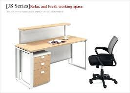 Reception Office Desk Melamine Office Desk Themoxie Co