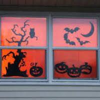 Halloween Window Lights Decorations - 100 halloween window decorations lights halloween pumpkin