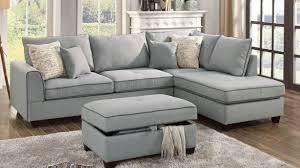 gray sectional with ottoman light grey sectional sofa awesome modern in fabric with ottoman oslo