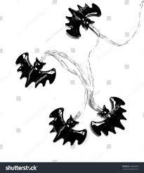 halloween bat decoration isolated on white stock photo 729896950