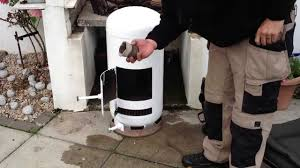 build a giant pot belly stove in an hour out of a propane tank