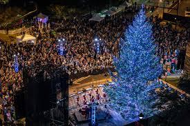 tree lightings and parades