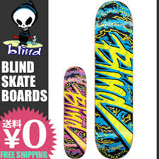 Blind Skateboards Logo Skateboard Shop Sunabe Rakuten Global Market Skateboarding