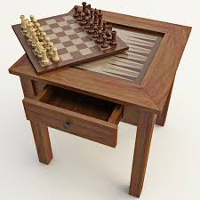 chess table 3d 3ds