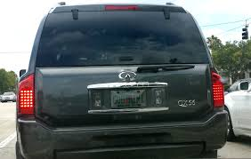 infiniti qx56 gold from carbuyingtips com here u0027s a funny license plate we saw on an