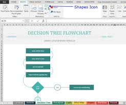 Decision Tree Template Excel How To Find And Use Excel S Free Flowchart Templates
