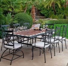 Iron Patio Table And Chairs Wrought Iron Patio Furniture Layout As Well As Design With