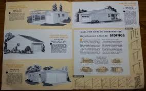 1950s design see 2 mad men era home improvement brochures 1950s graphic design brochure lumber industry 25 garages and carports weyerhaeuser company 6