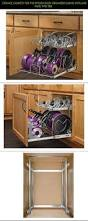 Cabinets For The Kitchen by Storage Cabinets For The Kitchen Door Organizer Sliding Pots And