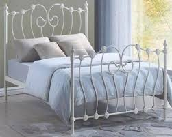 metal double bed interiors design
