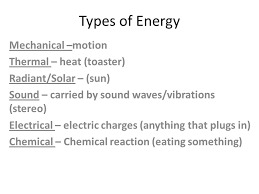 Notes Toaster Energy Transformation Notes 6 9 A The Student Will Investigate