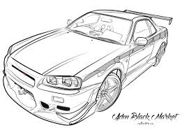 nissan skyline r34 paul walker jdm black market u2014 official licensed paul walker u0027s nissan skyline r34