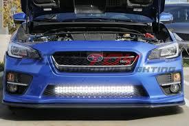 automotive led light bars 2015 up subaru wrx sti off road led light bar ijdmtoy blog for