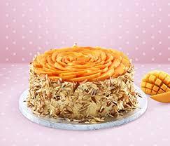 Kek Mango cakes real bakers