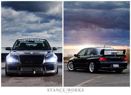 mitsubishi evolution 7 my evo 7 stanceworks feature evolutionm mitsubishi lancer and