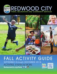 foster city halloween safe street redwood city fall 2015 activity guide by redwood city parks