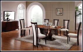 Dining Chair And Table 46 Dining Table And Chair Set Extendable Glass Top Leather For