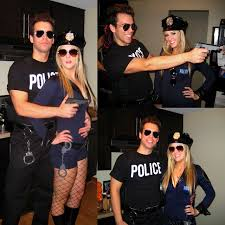 Halloween Costumes Bonnie Clyde Cops Cops Themed Halloween Party