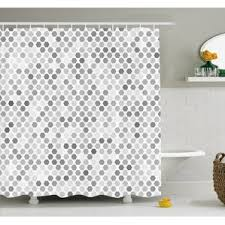 Shower Curtains Sets For Bathrooms by Modern White Shower Curtains Allmodern