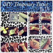 temporary tattoos made from your own drawings polyvore