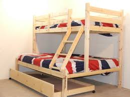 triple bunk bed trundle bunk bed trundle super practical