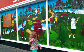 Golf Murals by Golf Brian Walsh Pictures