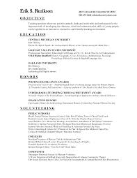 Sample Objective For Teacher Resume Preschool Teacher Resume Sample Teacher Resume English Teacher
