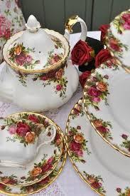 country roses tea set moonlight roses royal albert tea cup saucer set blue