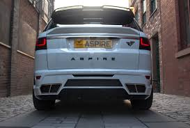 land rover bespoke range rover body kits by aspire design co uk