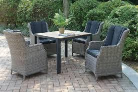 Patio Furniture 5 Piece Set - 5 piece set 261 silver state furniture