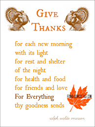 special thanksgiving prayer
