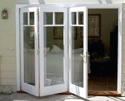 Folding Exterior Doors Tri Fold Patio Doors Large Size Of Window Patio Doors With Windows