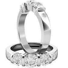 verlobungsring platin diamant drei steine ring verlobungsring fuer dame in platin mit 3