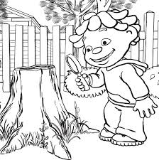 these sid the science kid coloring pages for free coloring pages