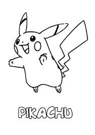Coloriages pikachu à imprimer  frhellokidscom