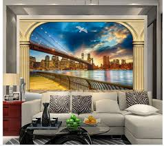 mural painting photos picture more detailed picture about 3d 3d bathroom wallpaper roman column window outside the landscape tv wall mural painting photos home decoration