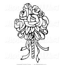 wedding flowers drawing royalty free floral bouquet stock wedding designs