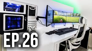 Best Gaming Computer Desks by Room Tour Project 26 Ft Dom Esposito Best Gaming Setups