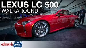 lexus lc 500 detroit 2016 2018 lexus lc 500 walkaround review detroit auto show youtube