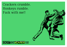 crackers crumble honkeys rumble fuck with me random