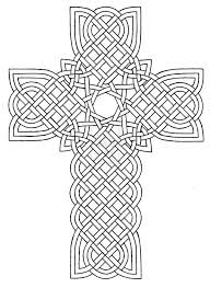 tribal cross design coloring page coloring sun