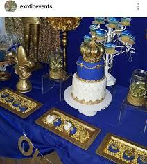 royal prince baby shower ideas royal prince baby shower dessert table royal prince boy theme