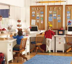 Kids Bedroom Solutions Small Spaces Charming Study Desks Funiture Shared For Kids With Board Ideas