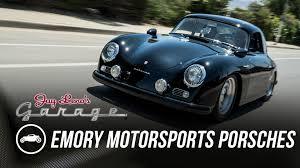 porsche 356 outlaw emory motorsports custom porsche 356s jay leno u0027s garage youtube