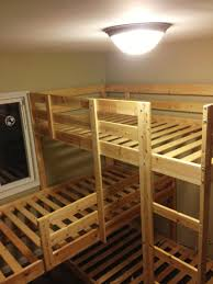 Ikea Double Bunk Bed Ikea Mydal Bunk Bed Frame Ikea Mydal Bunk Bed In Different