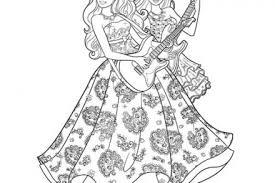 coloriage barbie la princesse et la popstar la princesse et la
