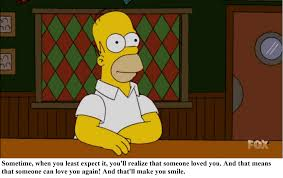 quotes about love in christmas homer speaks the truth about lost love imgur
