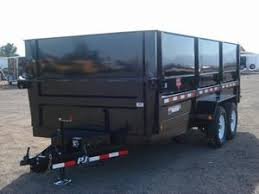 Utility Bed Trailer Pj Trailers D9162 Dump Bed Trailer Horse Trailers Used Trailers