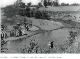 putah creek baptism lake berryessa news