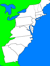 Blank Civil War Map by Revolutionary War Map Thinglink